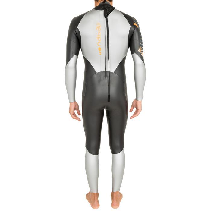 Combinaison de natation néoprène nage en eau libre OWS550 4/3mm homme - 697953
