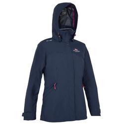 女性航海運動外套 100 - 深藍