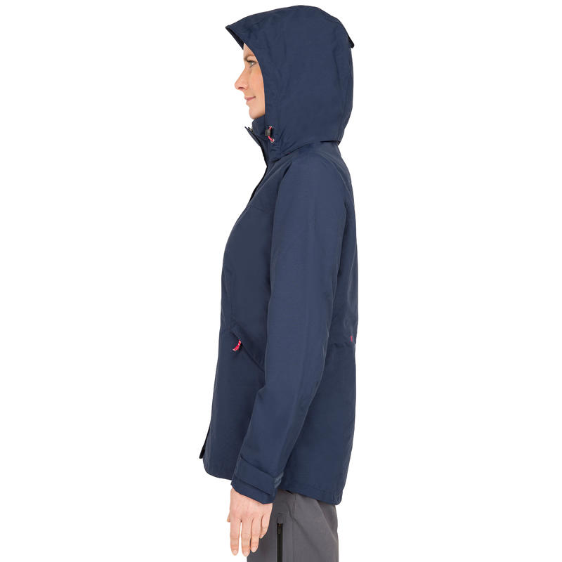 100 Women's Sailing Jacket - Dark Blue