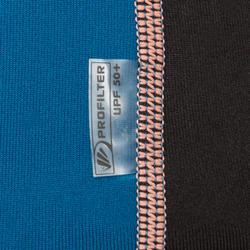 Thermische rashguard met korte mouwen voor dames zwart - 698146