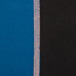 Thermische rashguard met korte mouwen voor dames zwart - 698149