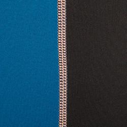 Thermische rashguard met korte mouwen voor dames zwart - 698150