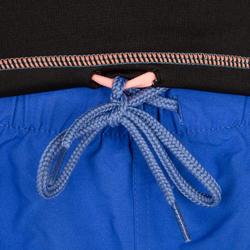 Thermische en uv-werende rashguard 900 met lange mouwen voor dames zwart - 698157