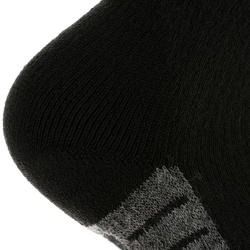 SH520 X-Warm Adult Tall Black Red Snow Hiking Socks.