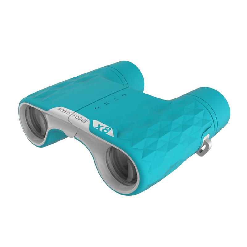 Children's binoculars without adjustment x8 magnification - Green