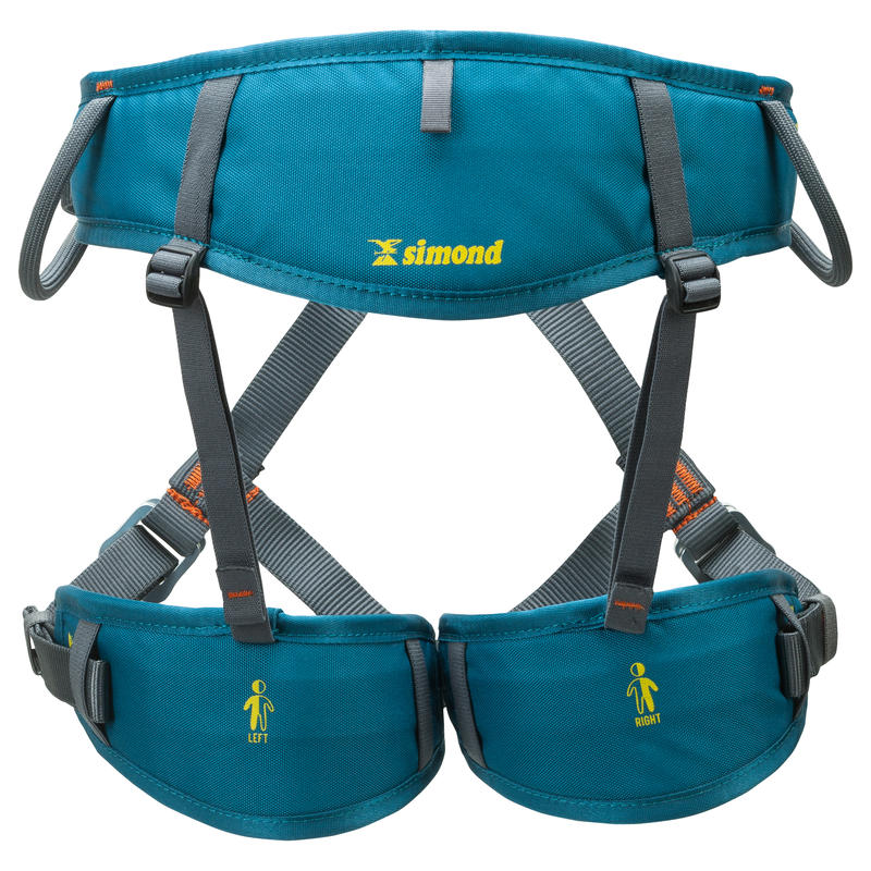 Climbing And Mountaineering HARNESS EASY 3 BLUE