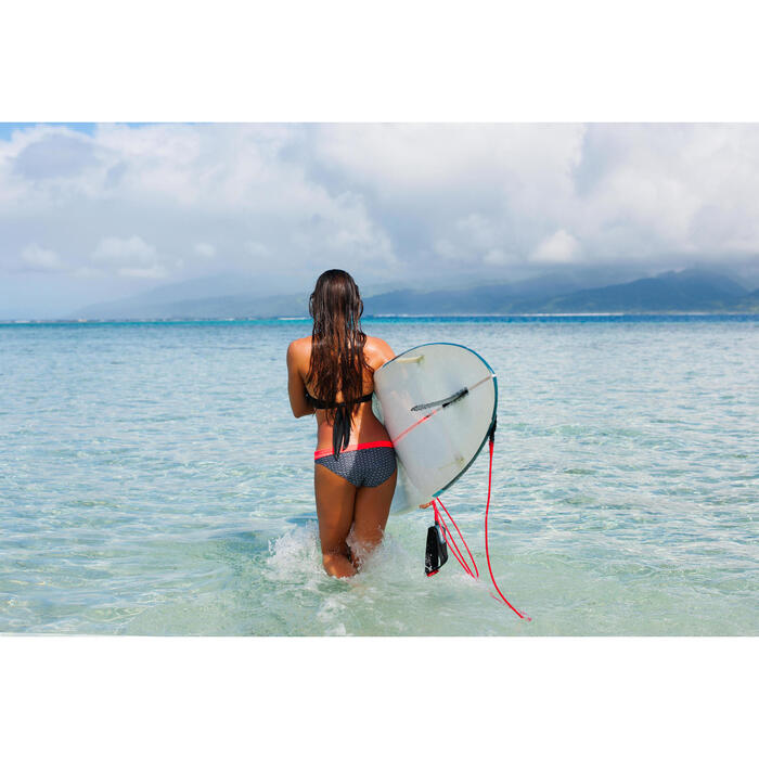 Bikinibroekje Nao Bama met hoge taille en omslag