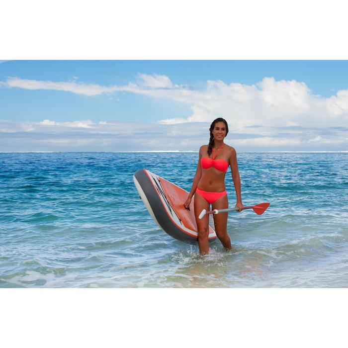 Bikini-Hose klassisch Nina Corail Fluo hellrot