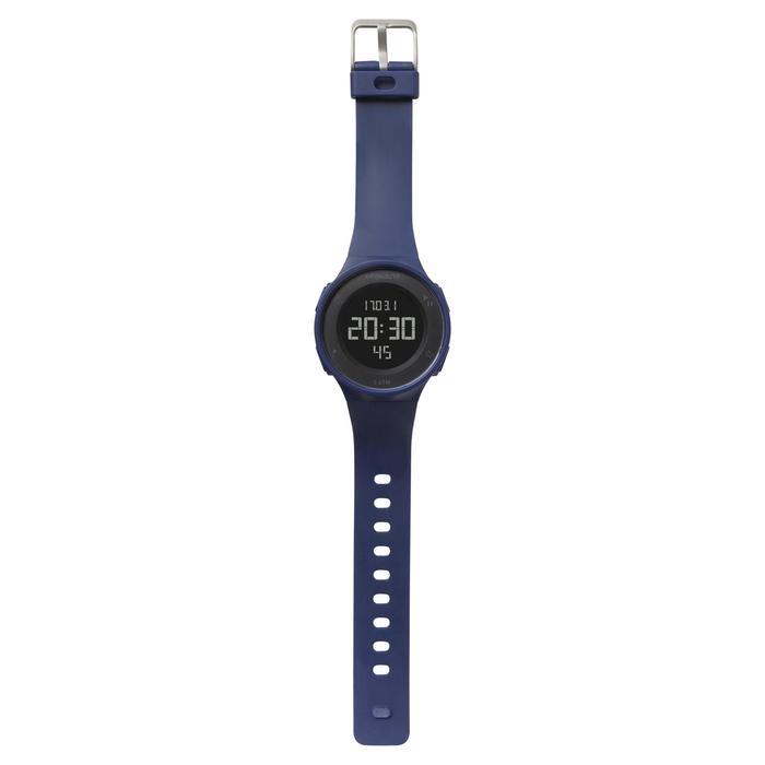 Montre chronomètre de course à pied homme W500 M noire reverse - 700383