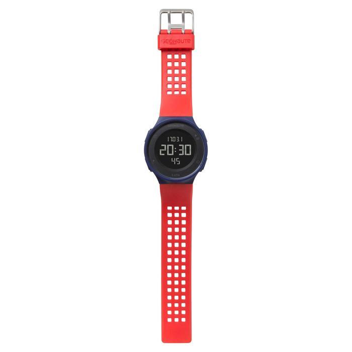 Montre chronomètre de course à pied homme W500 M noire reverse - 700384