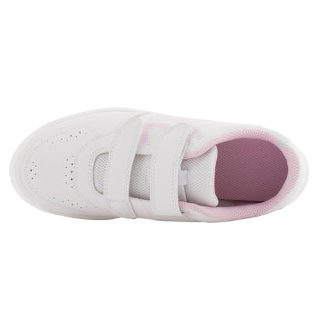 Тенісні кросівки 100 дитячі - Білі/Рожеві