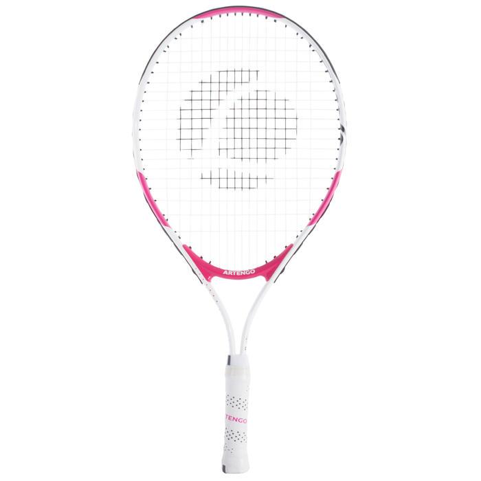 TR130 23 Girls' Tennis Racket - White/Pink - 700440