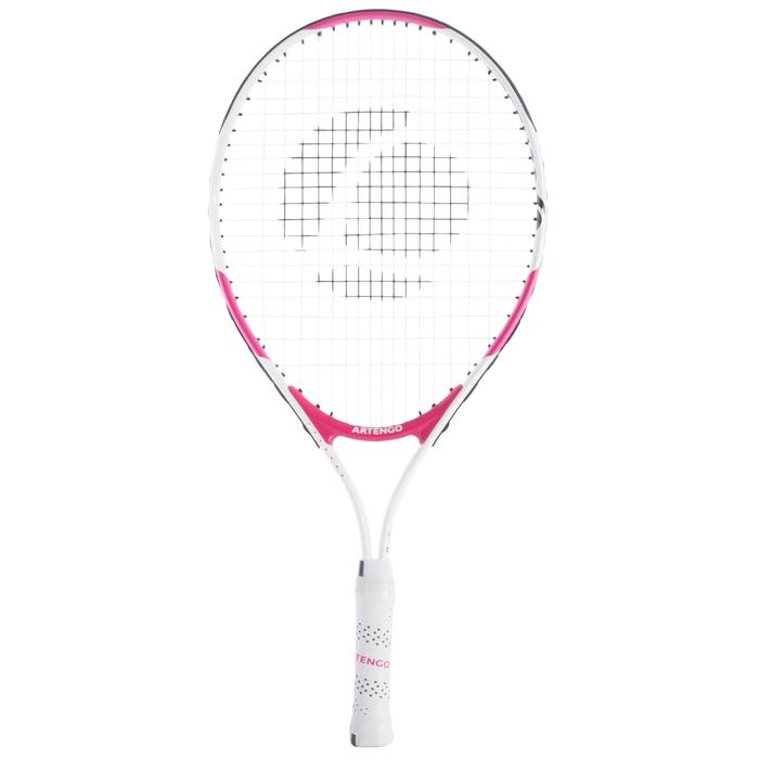 TR130 23 Girls' Tennis Racket - White/Pink