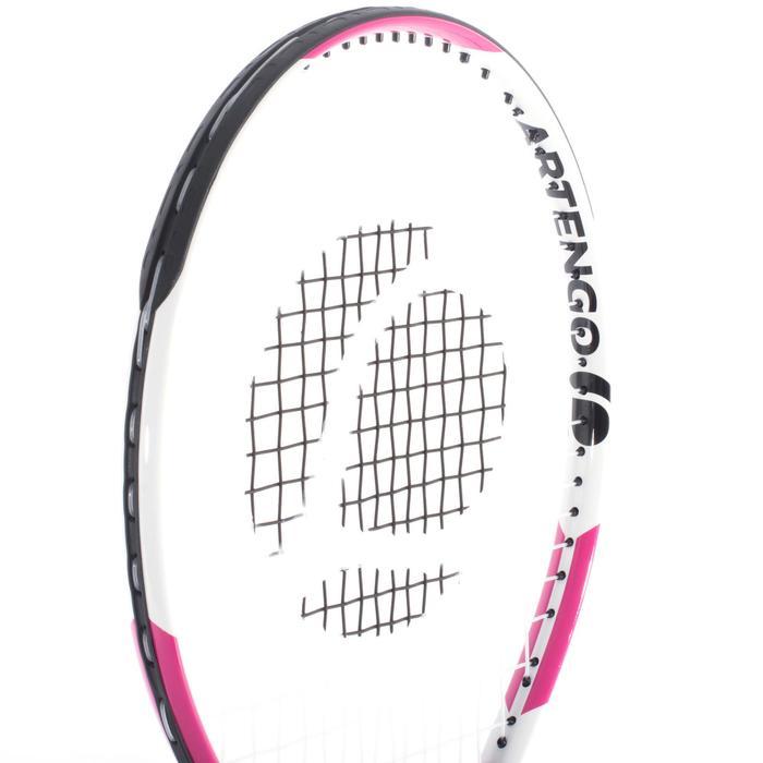 TR130 23 Girls' Tennis Racket - White/Pink - 700441