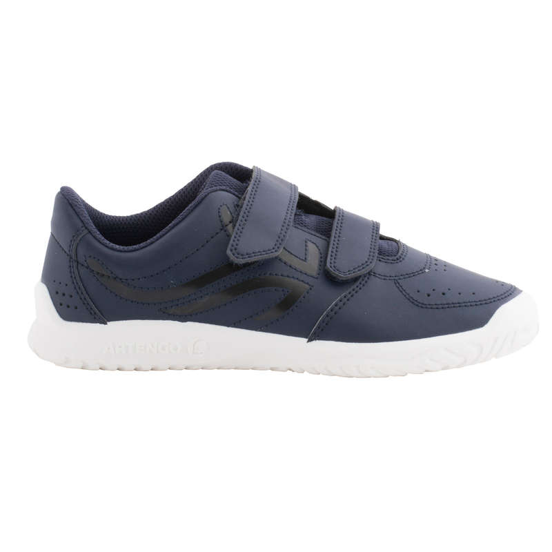 JUNIOR TENNIS SHOE Tennis - TS100 Kids' - Blue ARTENGO - Tennis Shoes