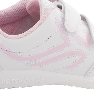 حذاء التنس للأطفال TS700 - أبيض / وردي اللون