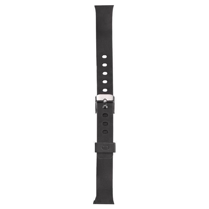 Horlogebandje Strap S Swip zwart