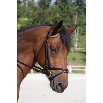 Filet + rênes équitation STRASS noir -  cheval - 700686