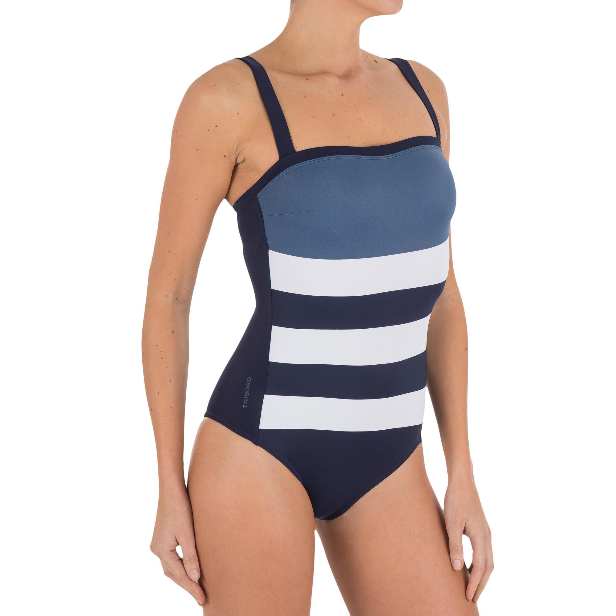942877c444661 Cori One-Piece Swimsuit with Built-In Bra - Hampto