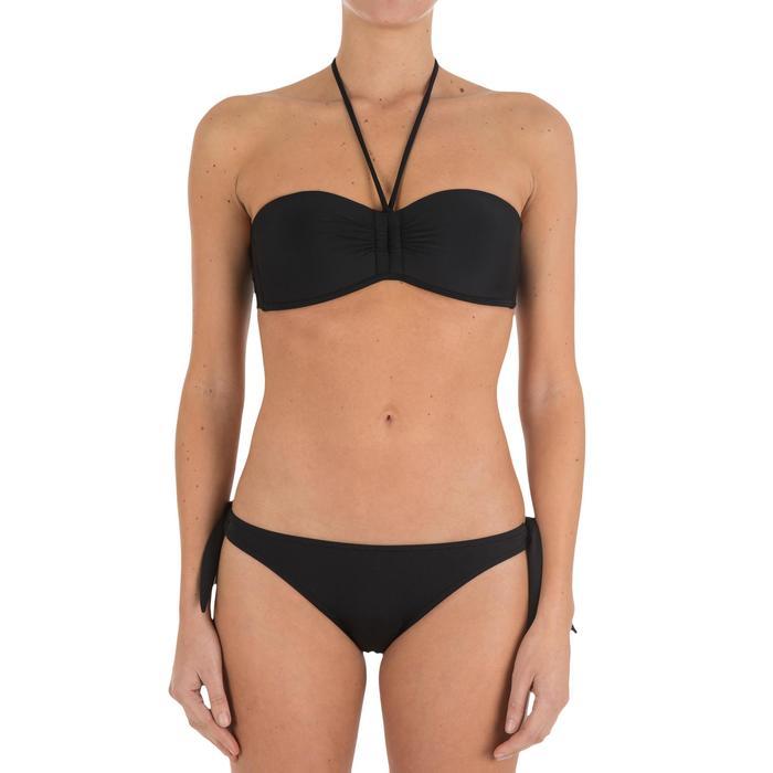 Haut de maillot de bain femme bandeau avec coques fixes LAETI - 701113