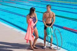 Zwemboxer voor heren B-Active Plus zwart - 701174