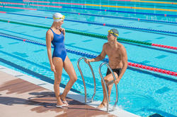 Zwemboxer voor heren B-Active Plus zwart - 701728