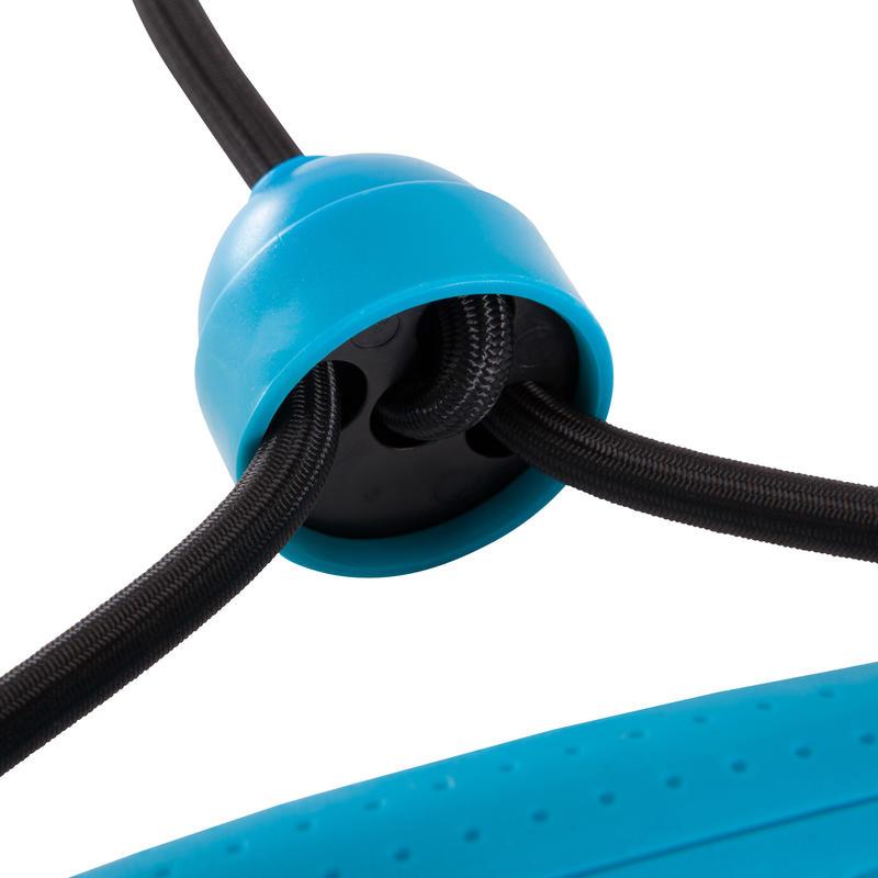 Elastic Band Toning Tube with Handles 5kg/10 Lbs - Medium Resistance