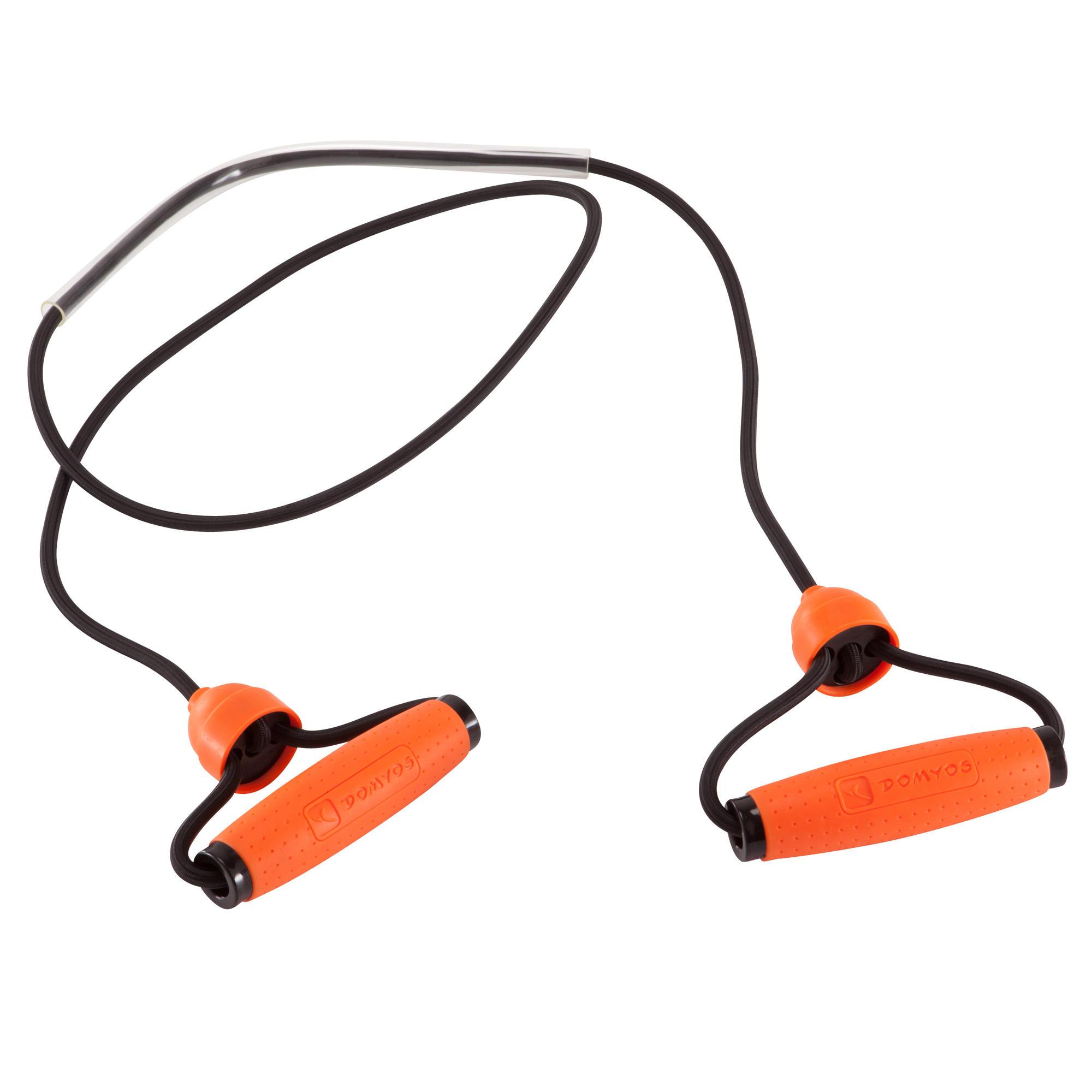 Resistance Bands Uk Decathlon: Adjustable Toning Gym Elastic Band Level Hard