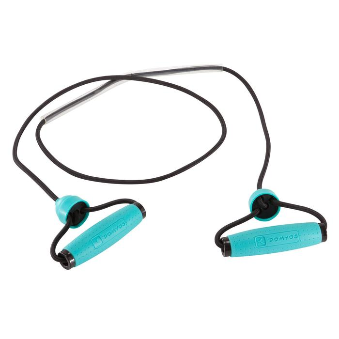 Tone Tube Resistance Band with Grips - Low Resistance 5 lbs/2.5 kg
