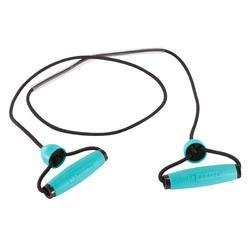Verstelbaar elastiek voor figuurtraining of gym - niveau beginners