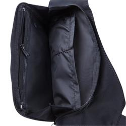 Tas met 2 draagmogelijkheden voor hardlopen zwart