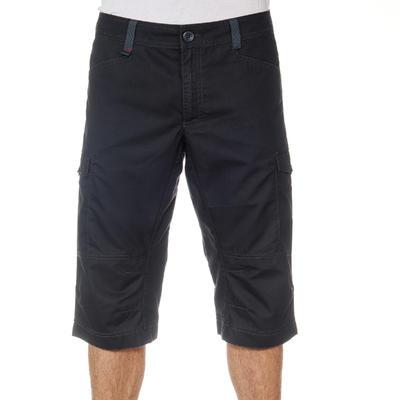 Pantalón 3/4 senderismo naturaleza NH500 gris hombre