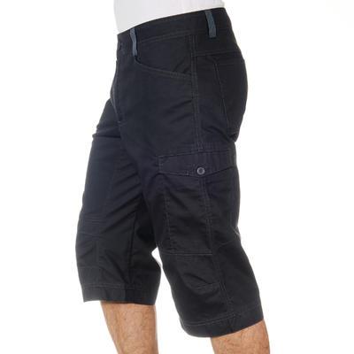 NH500 מכנסי קפרי לגברים לטיולים בטבע- אפור