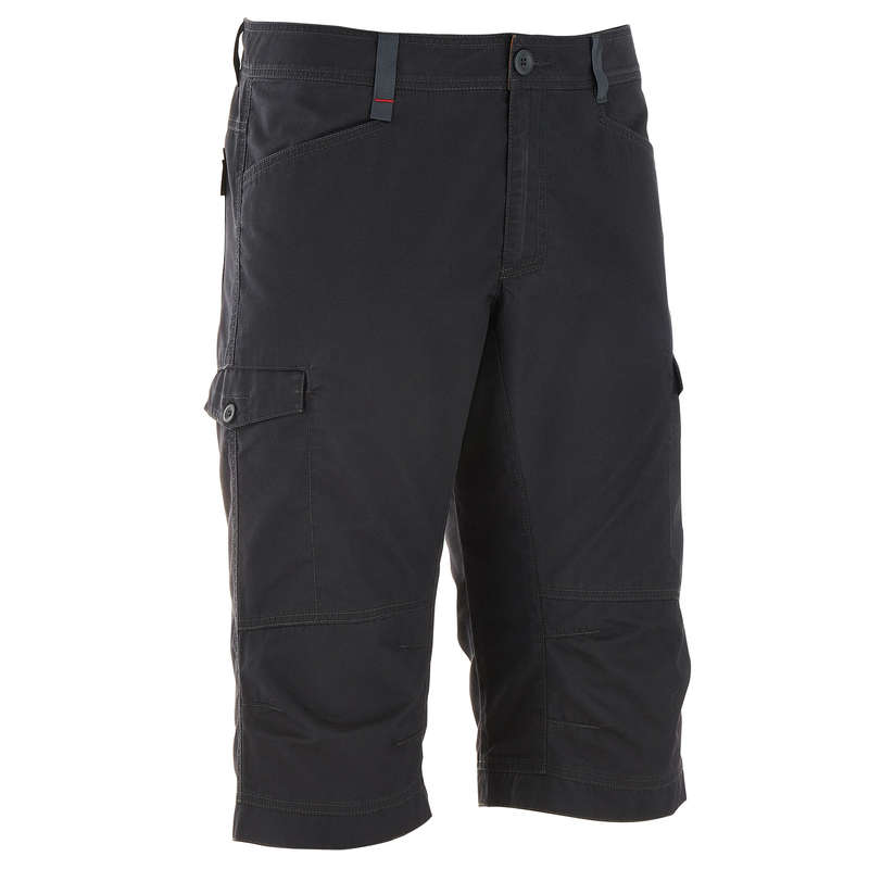 MEN NATURE HIKING SHORTS/T-SHIRTS - NH500 Men - Grey QUECHUA