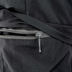 Afritsbroek voor kinderen, voor wandelen, MH550 zwart