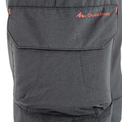 Zip-Off-Hose Hike MH500 Kinder schwarz