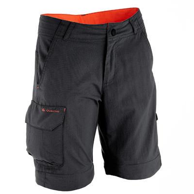 MH550 Children's Modular Hiking Trousers - Black