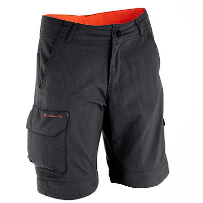 MH550 Children's Modular Hiking Trousers - Black