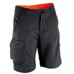 Pantalon de randonnée modulable enfant MH550 noir