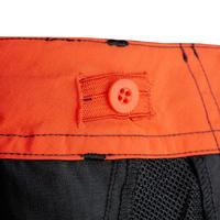 Pantalón de senderismo transformable júnior MH550 negro
