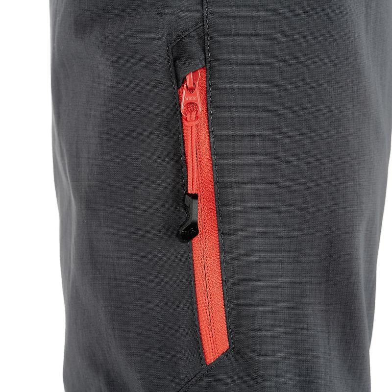 Kid's Hiking Pants MH550 (Modular) - Black