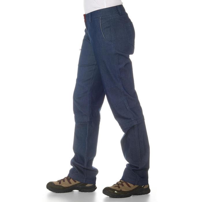 Pantalon modulable Trekking arpenaz 500 Denim femme - 702371