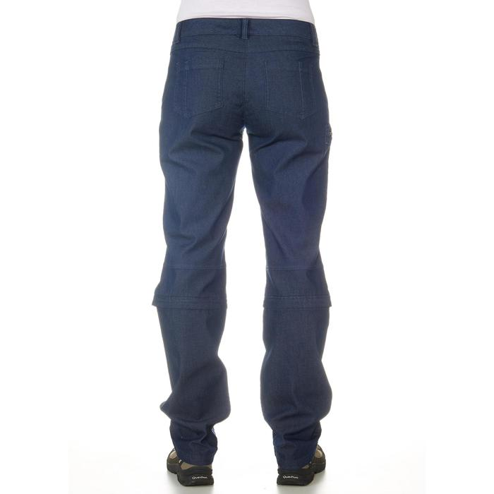 Pantalon modulable Trekking arpenaz 500 Denim femme - 702374