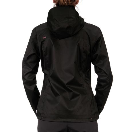 Arpenaz 300 Women's Waterproof Hiking Rain Jacket - Black | Quechua
