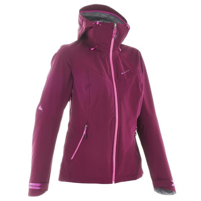 Veste de pluie imperméable de randonnée montagne MH500 Femme - 702631