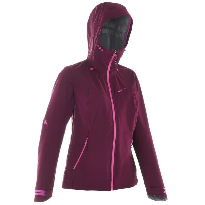 Veste de pluie imperméable de randonnée montagne MH500 Femme - 702634
