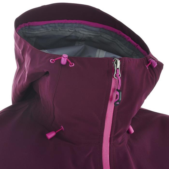 Veste de pluie imperméable de randonnée montagne MH500 Femme - 702636