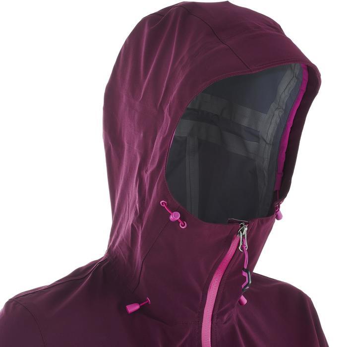 Veste de pluie imperméable de randonnée montagne MH500 Femme - 702637