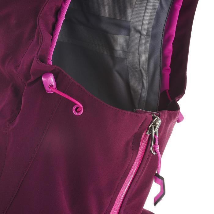 Veste de pluie imperméable de randonnée montagne MH500 Femme - 702648
