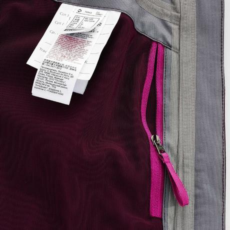 veste de pluie imperm able de randonn e montagne femme prune quechua. Black Bedroom Furniture Sets. Home Design Ideas